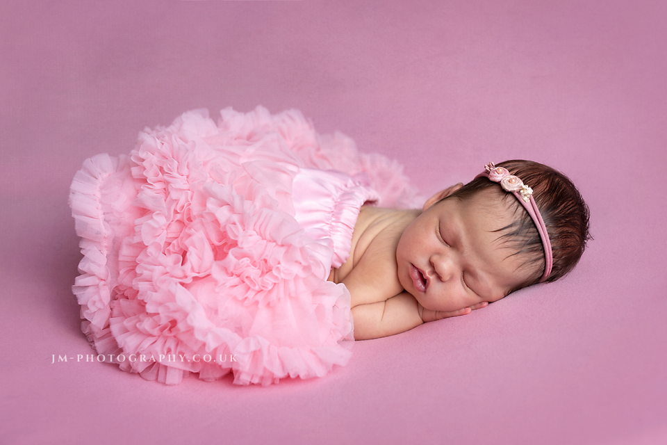 Pretty in Pink newborn Baby